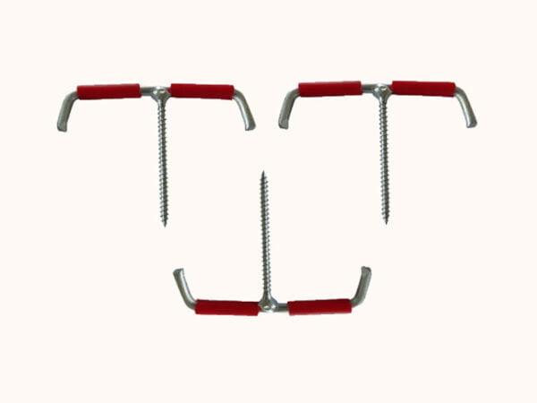 Drehheringe für harte Oberflächen - 3 Stück