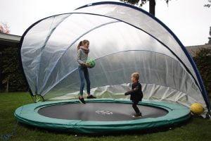 SunnyTent trampoline