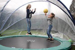 SunnyTent als trampolinetent