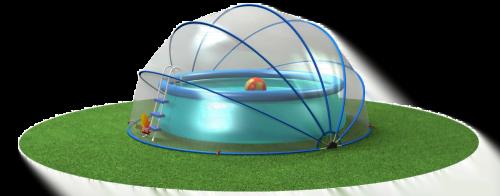 SunnyTent comme tente pour piscine
